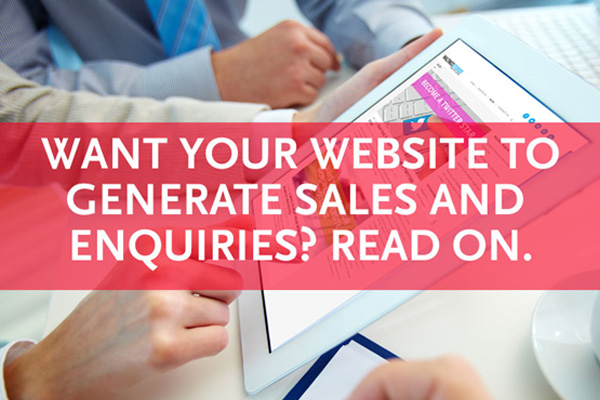 most business websites will never succeed as a sales tool unless